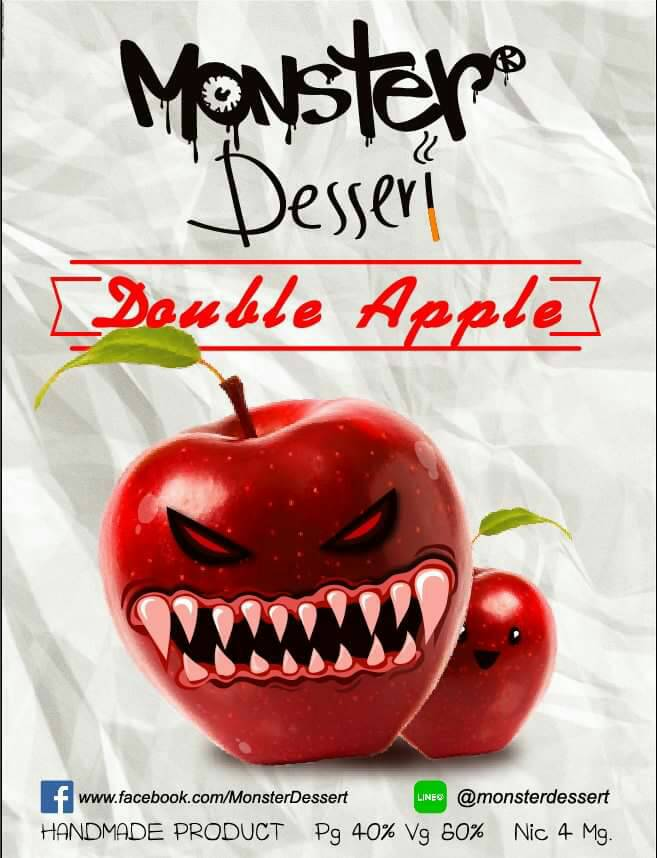 Monster Dessert  Double Apple